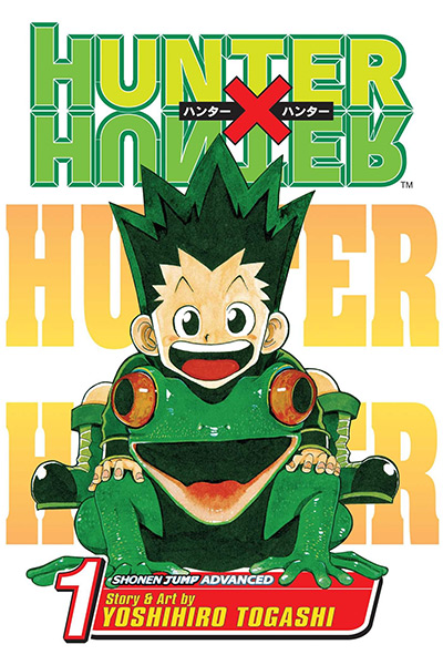 Hunter x Hunter Vol 1 Manga Cover