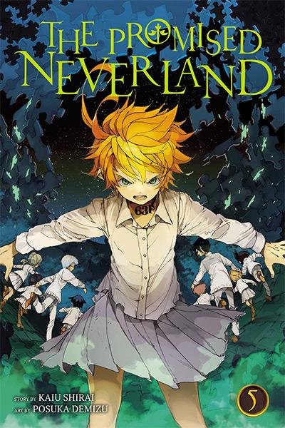 The Promised Neverland Manga / Volume 5 Cover