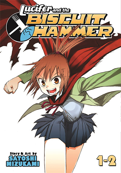 Lucifer and the Biscuit Hammer Manga Cover