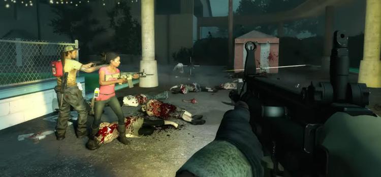 Left 4 Dead 2 Xbox 360 gameplay