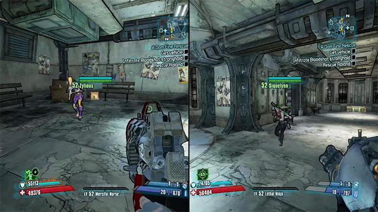 Borderlands 2 Multiplayer gameplay