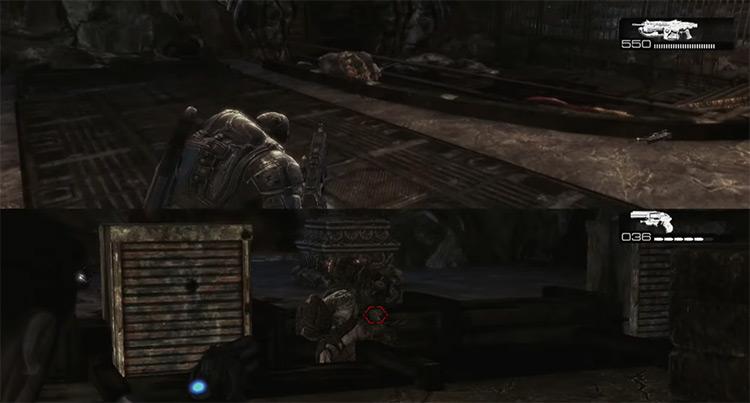Gears of War 2 / Xbox 360 game screenshot