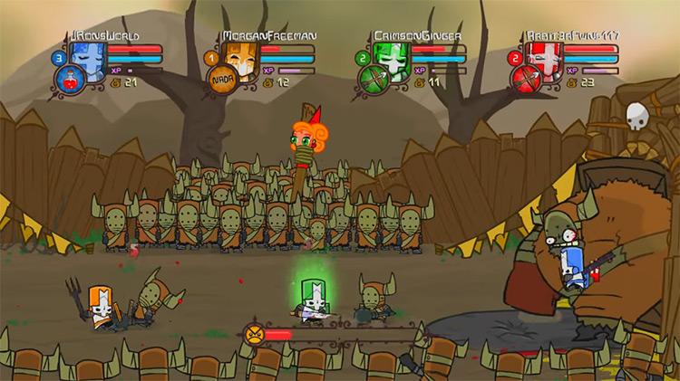 Castle Crashers Xbox 360 screenshot