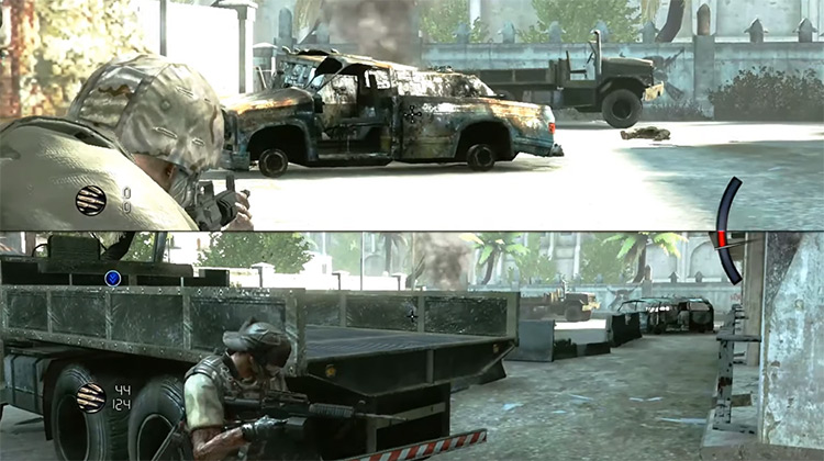 Army of Two Xbox 360 gameplay screenshot