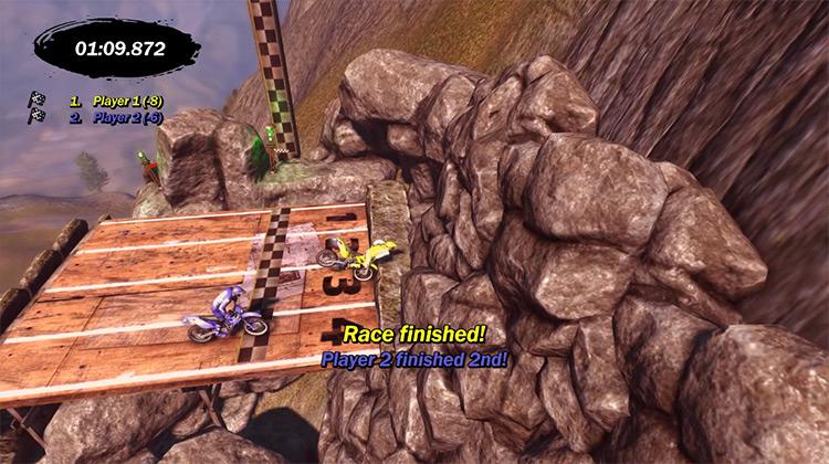 Trials Evolution / Multiplayer Xbox 360 gameplay