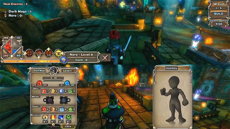 Dungeon Defenders Xbox360 game screenshot