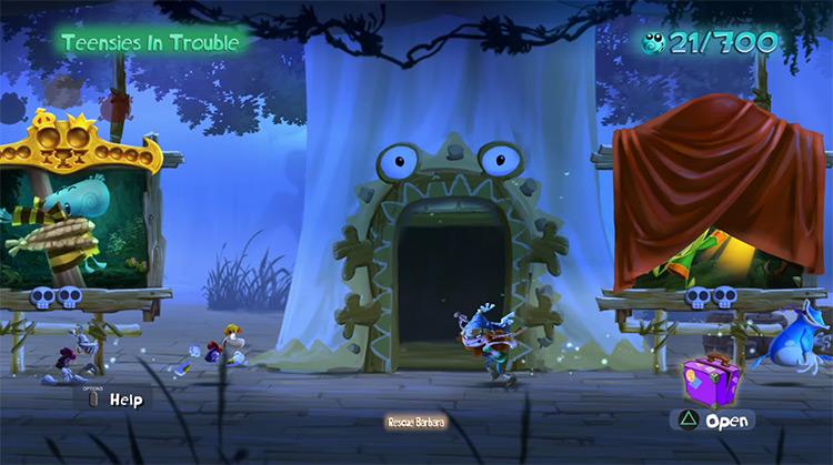 Rayman Legends Multiplayer Xbox360 gameplay