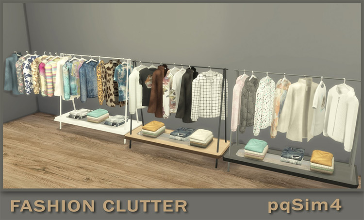 Fashion Clutter Set for The Sims 4