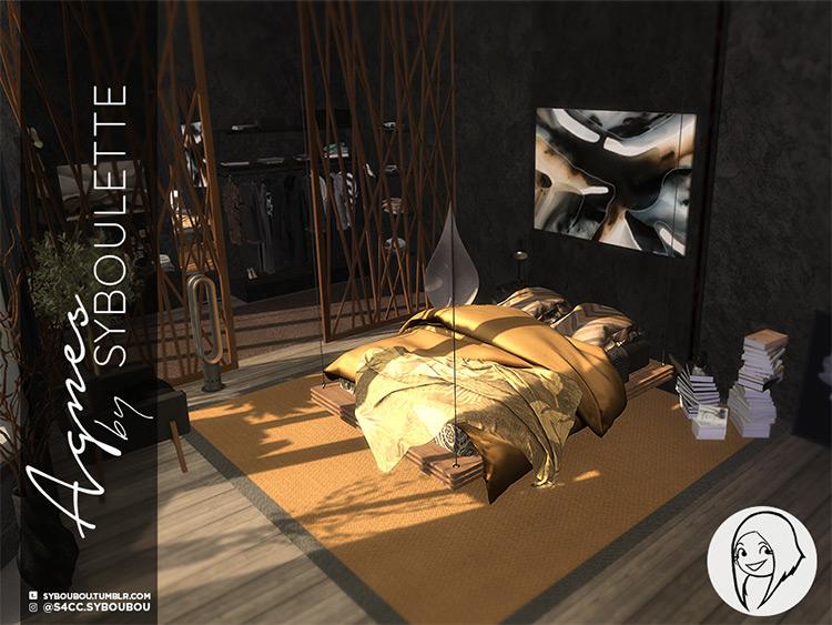 Agnes Bedroom Set / TS4 CC