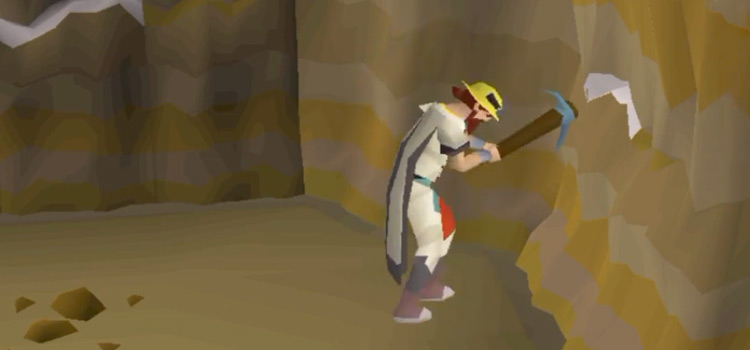 Character Mining in Motherlode Mine / OSRS HD