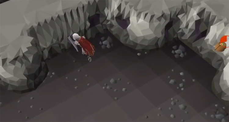 Mining inside Blast Mine / OSRS Screenshot