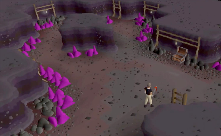 Gem Rocks Mining / OSRS Screenshot