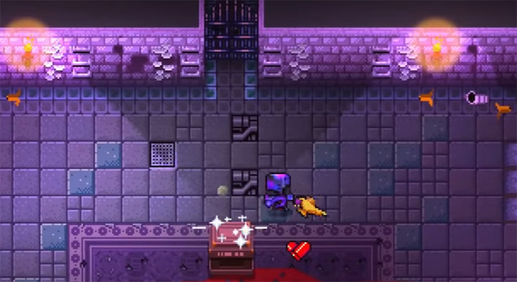 Playing as The Paradox in Gungeon