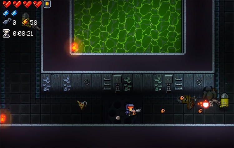 Enter the Gungeon - playing as The Marine