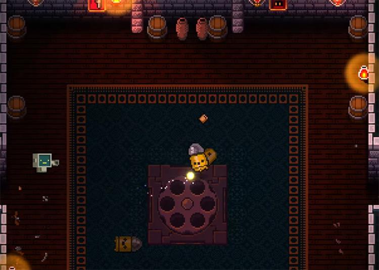 Playing as The Robot Character / Enter the Gungeon Screenshot