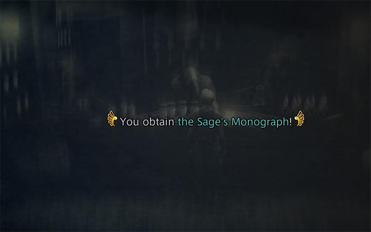 Obtaining Sage's Monograph in FFXII: TZA