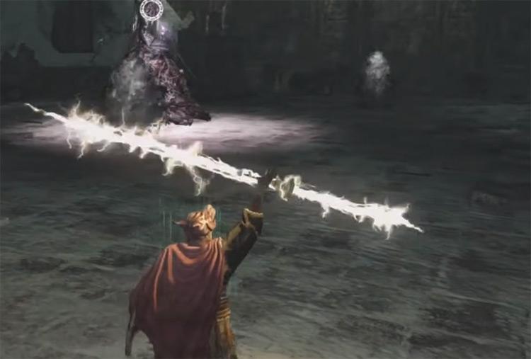 Lightning Spear in DS2 / Screenshot