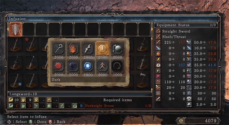 Dark Stone Infusion in DS2