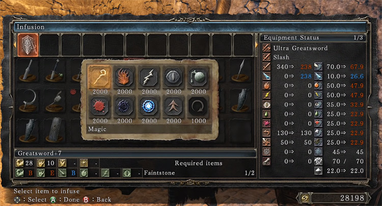 Magic Infusion Screenshot from DS2