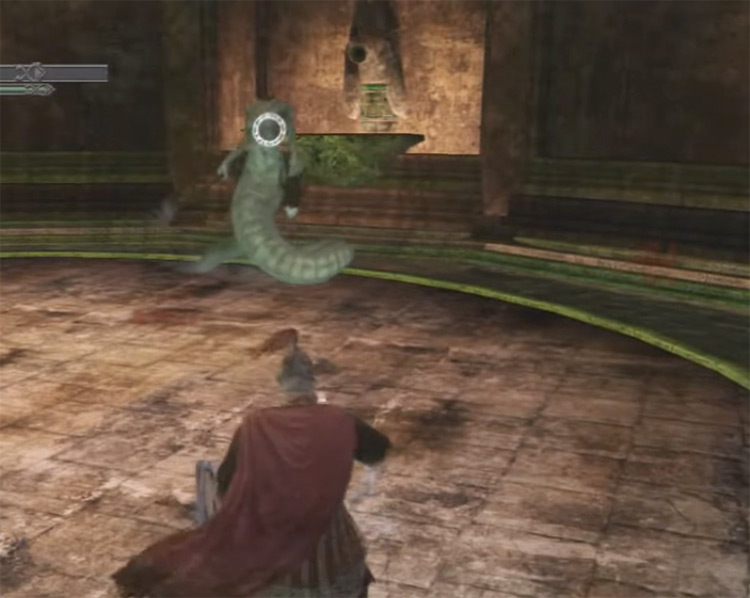 Mytha Boss Fight with Poison Infusion / DS2 Screenshot