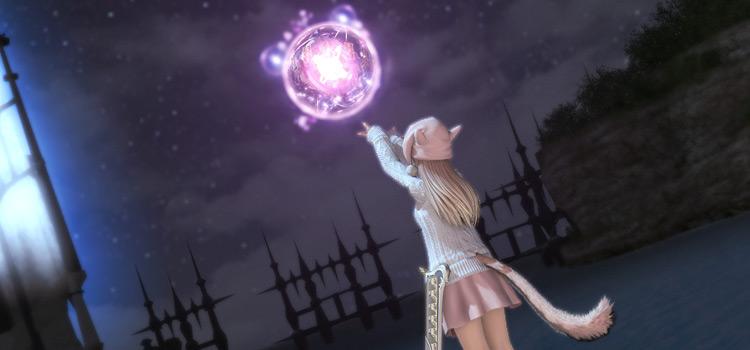 Astrologian Anima Weapon in Final Fantasy XIV