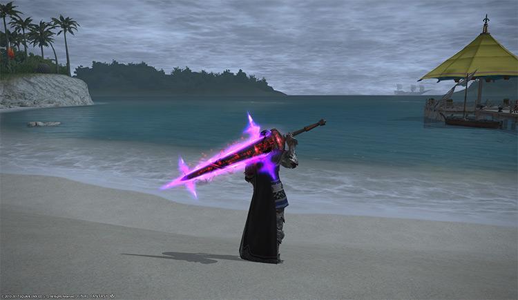 DRK Dark Knight Anima Weapon / FFXIV Screenshot