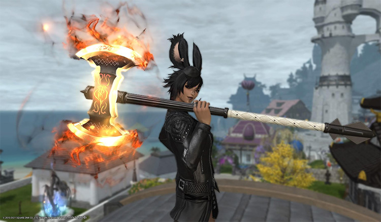 Warrior anima weapon / FFXIV Screenshot