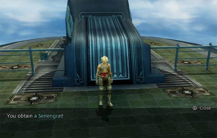 Getting invisible Seitengrat Bow / FFXII TZA