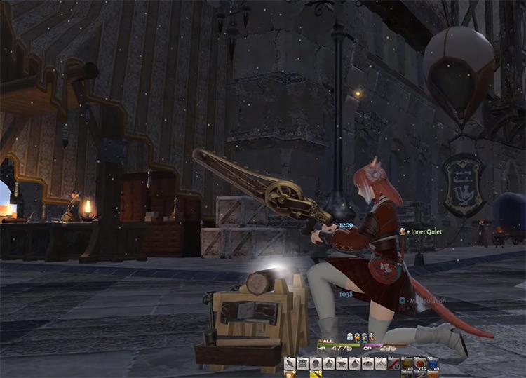 Crafting character screenshot / FFXIV Screenshot