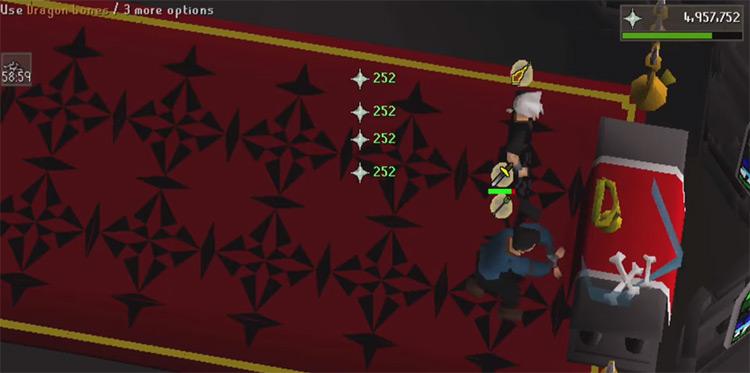 Chaos Altar Training / OSRS Screenshot