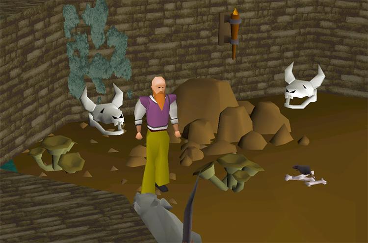Power Burying Bones for Prayer / OSRS Screenshot