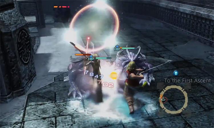 Expose Technick in Battle / FFXII