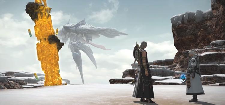 The Eden in the sky / FFXIV HD Screenshot