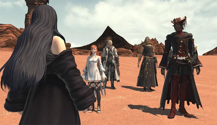 Cutscene from Eden's Verse Raid / FFXIV Screenshot