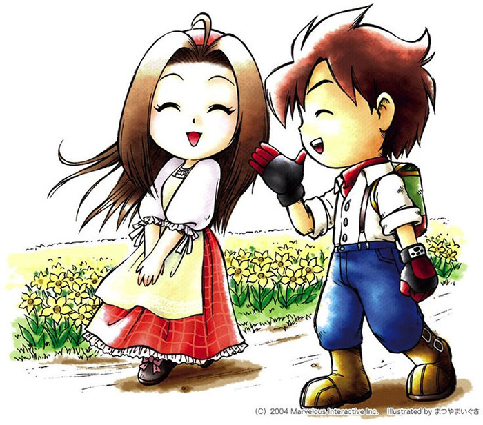 Celia wife in Harvest Moon AWL