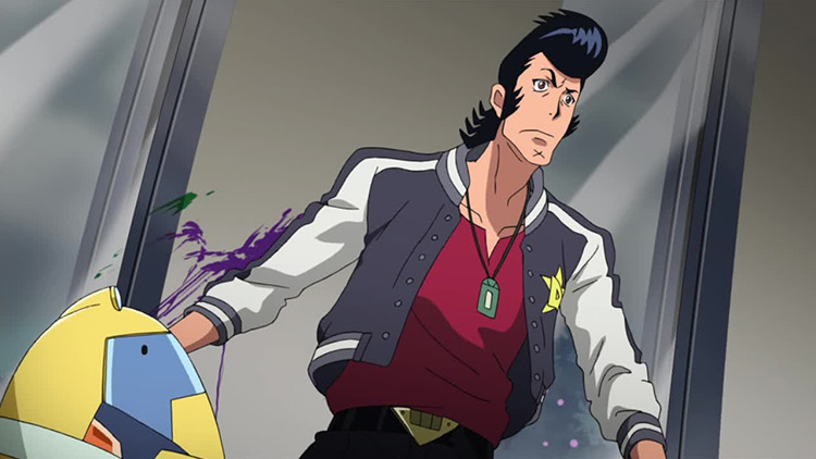 Dandy from Space Dandy anime