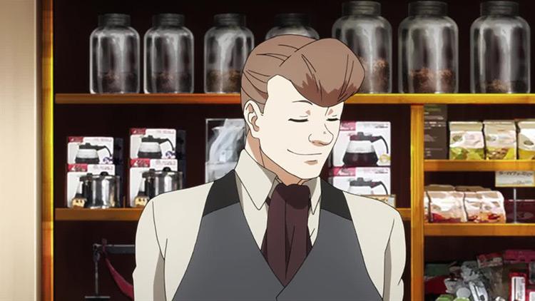 Enji Koma from Tokyo Ghoul anime