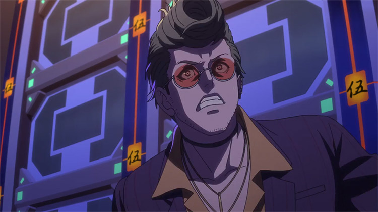 Hoodlum from Akudama Drive anime