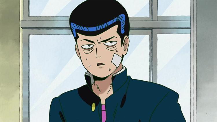Tenga Onigawara in Mob Psycho 100 anime