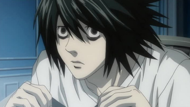 L from Death Note anime
