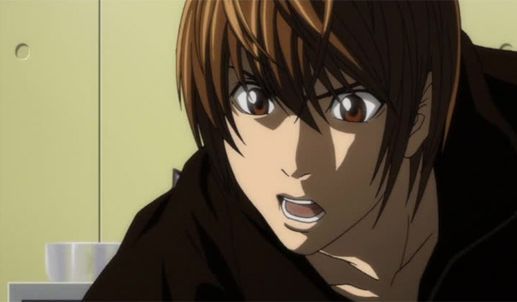 Light Yagami from Death Note anime