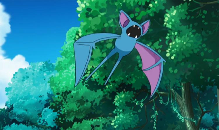 Zubat Pokemon anime screenshot