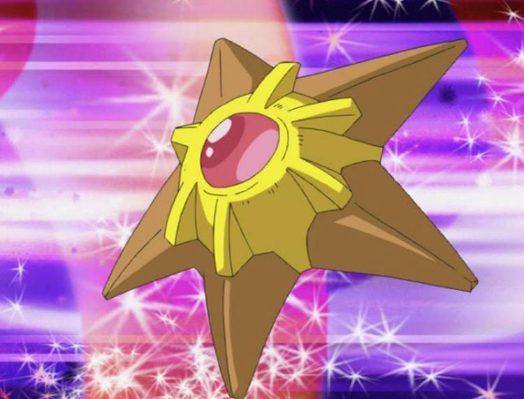Staryu Pokemon in the anime