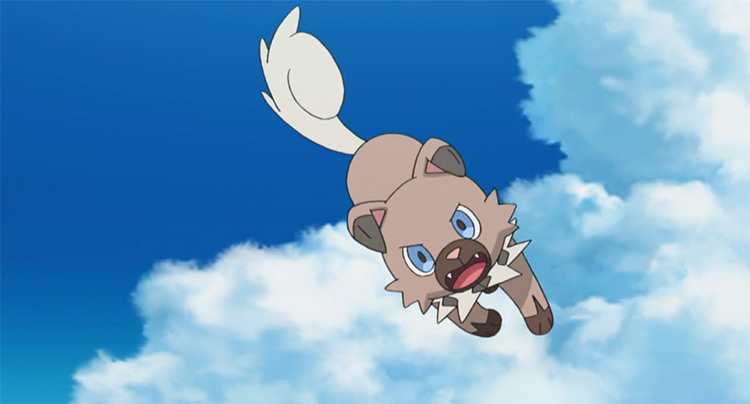 Rockruff Pokemon in the anime