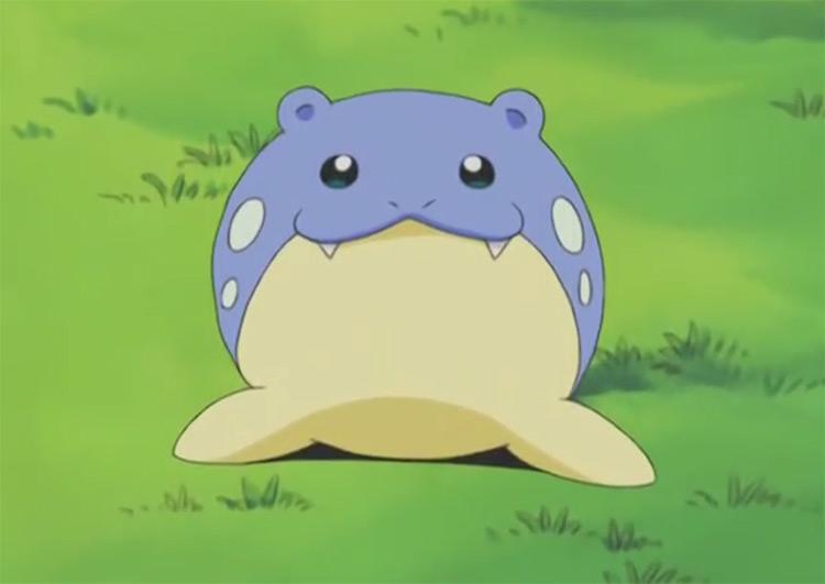 Spheal Pokemon in the anime