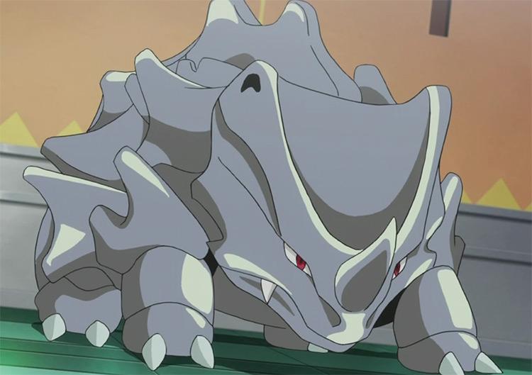 Rhyhorn from the Pokemon anime