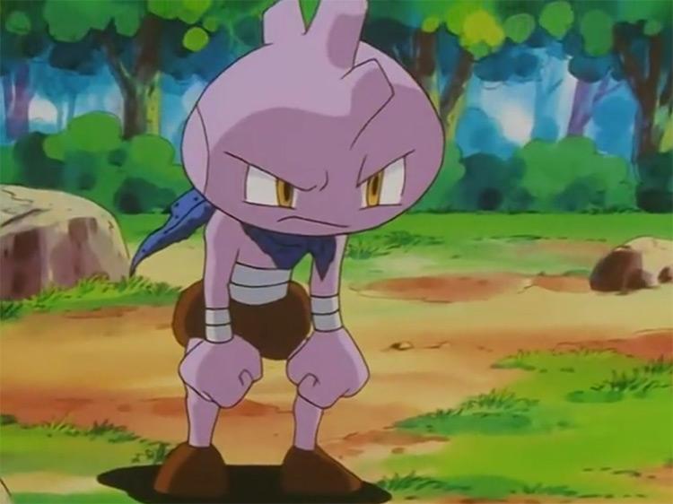 Tyrogue / Pokemon anime screenshot