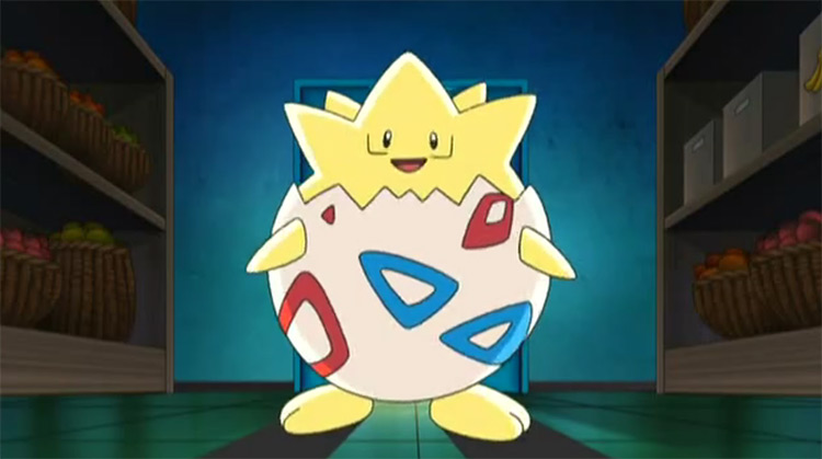 Togepi from the Pokemon anime