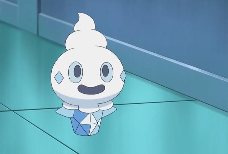 Vanillite Pokemon anime screenshot