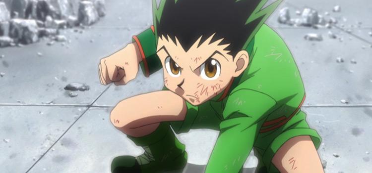 Gon Freeccs from Hunter x Hunter Anime